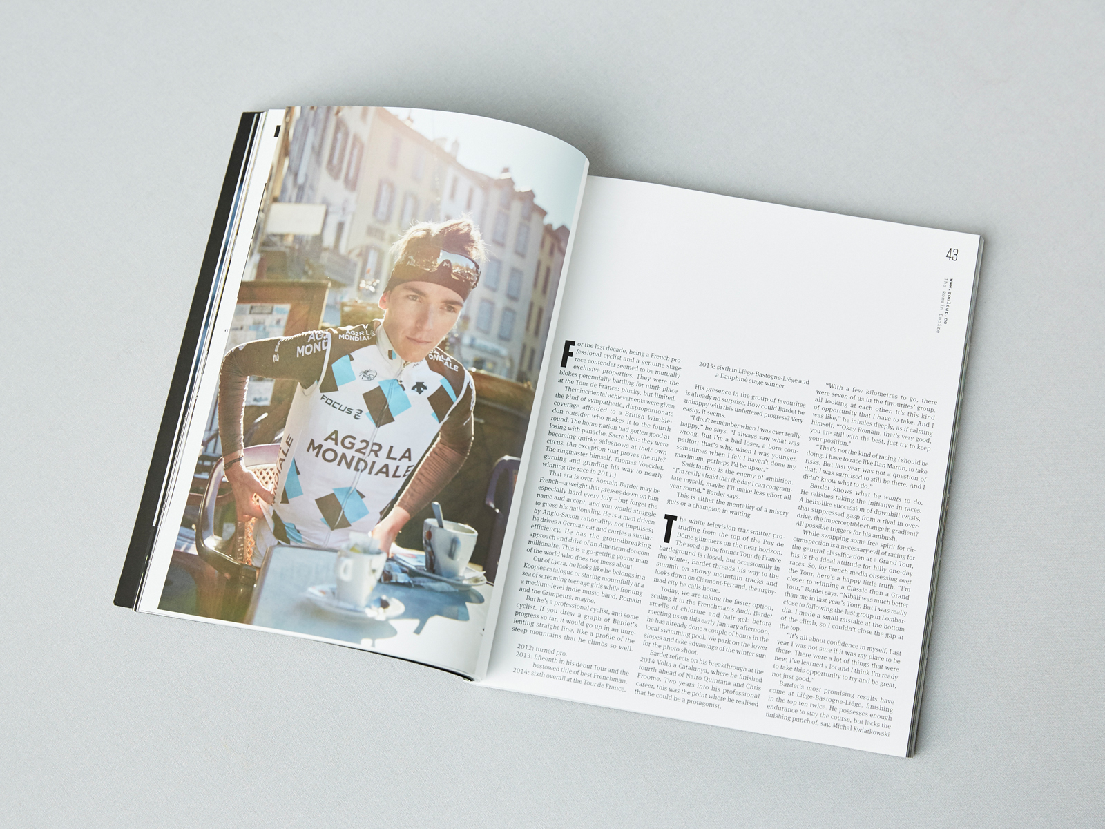 Rouleur Editorial Romain Bardet