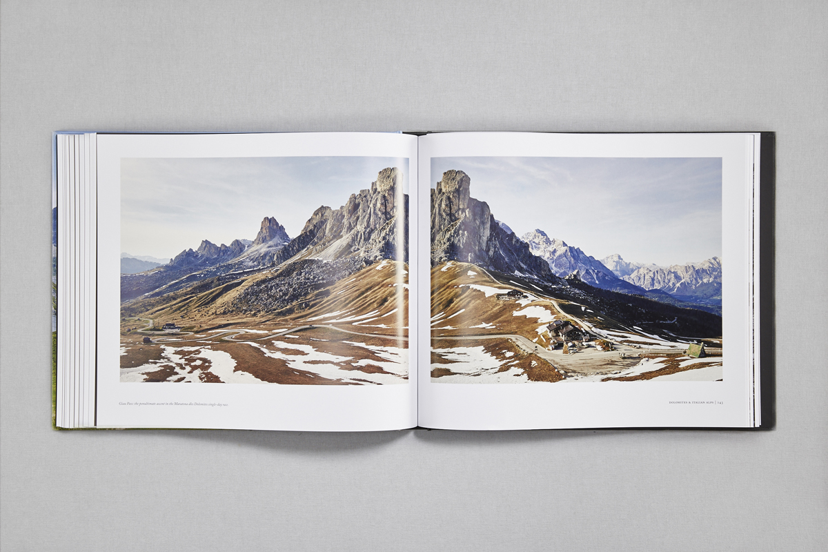 Mountains Book Spread